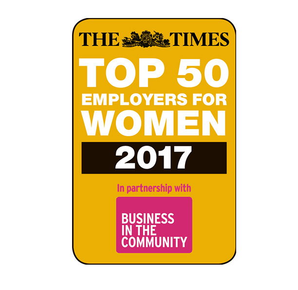 The Times Top 50 Employers For Women 2017