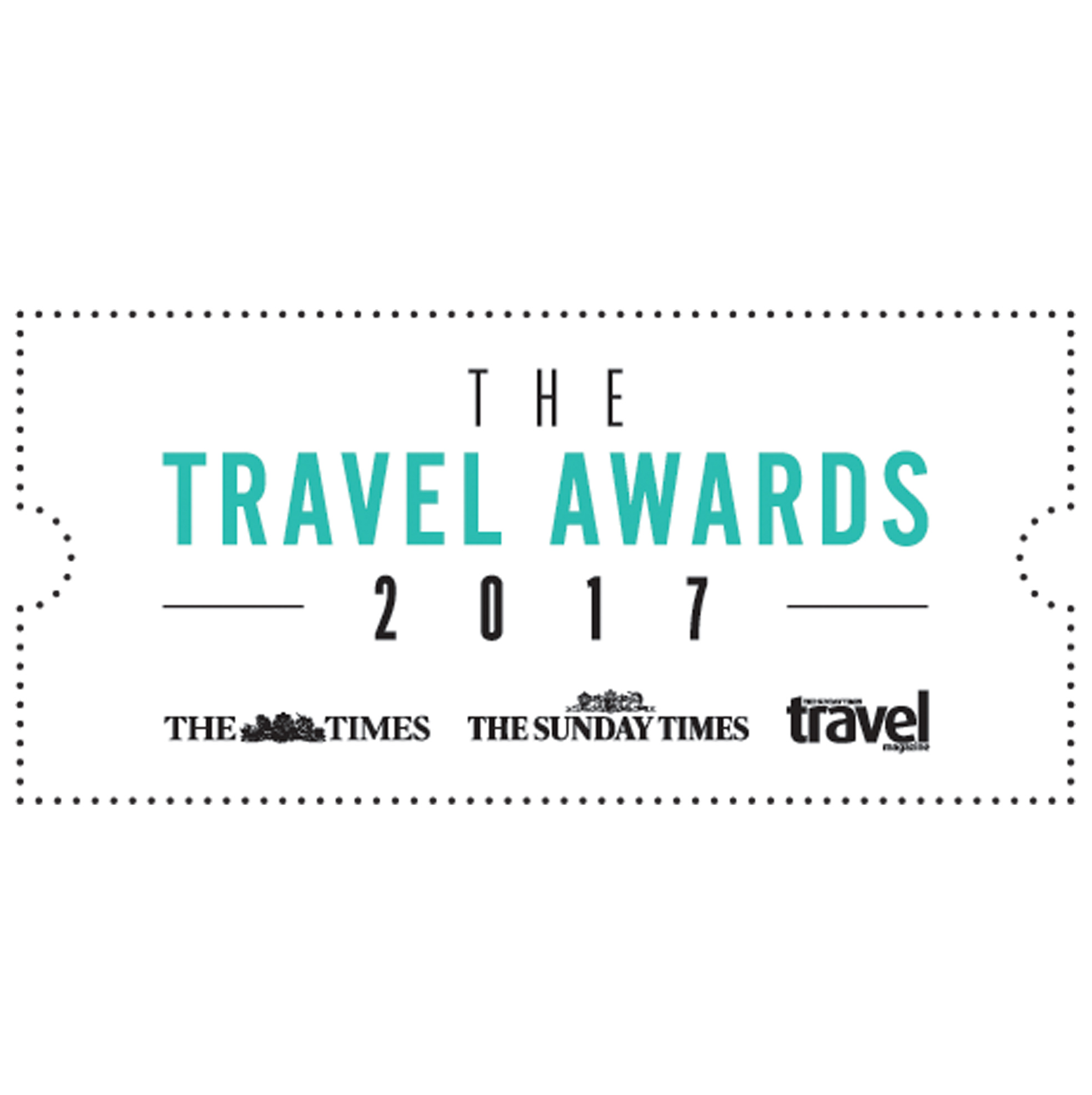 The Times and Sunday Times Travel Awards 2017 - Winners