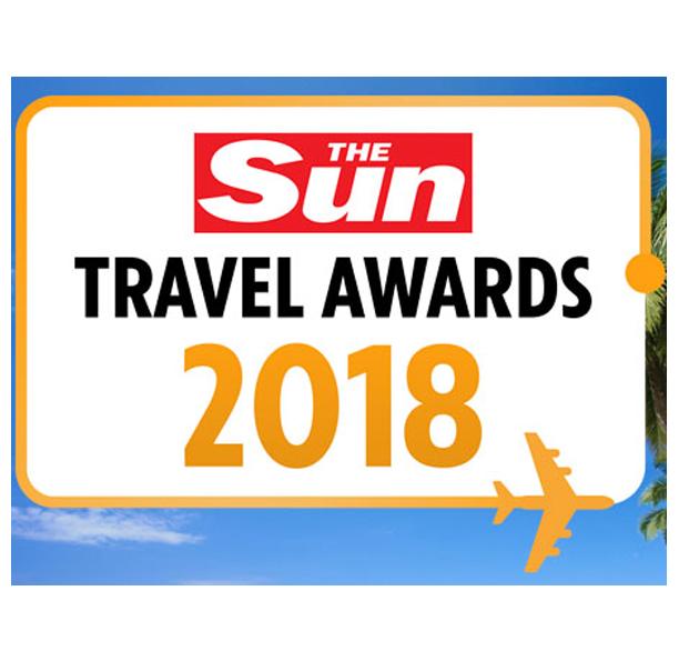 The Sun Travel Awards 2018 - Winners