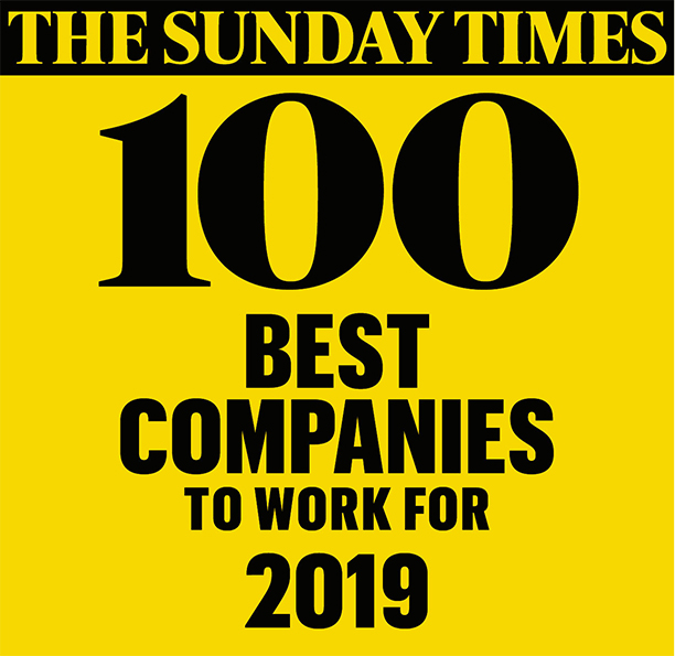 The Sunday Times Best Companies to Work For 2019