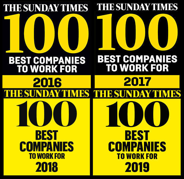 The Sunday Times Best Companies to Work For License Renewals