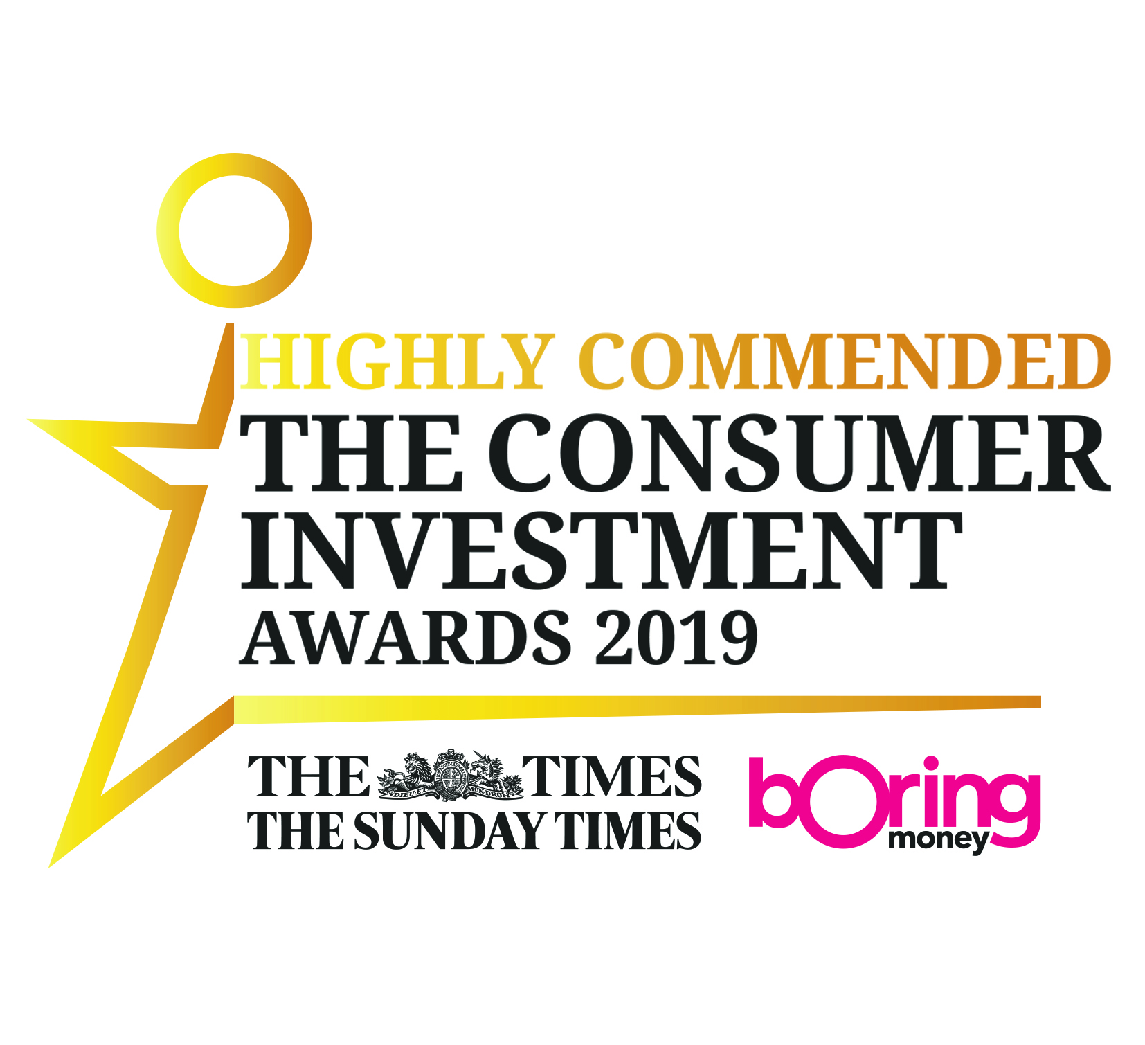 The Consumer Investment Awards - Highly Commended