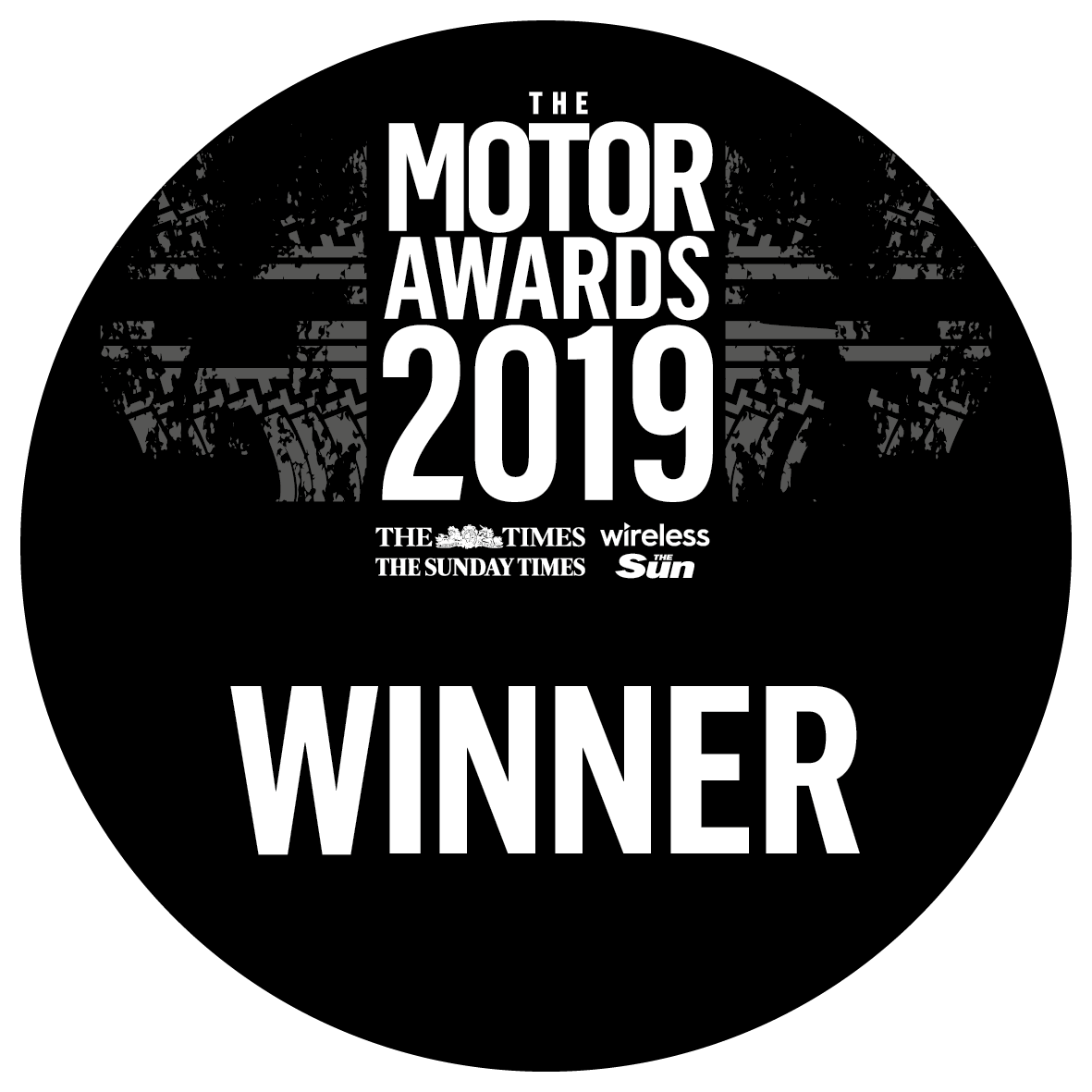 The Times, The Sunday Times, The Sun & Wireless Motoring Awards Winner 2019