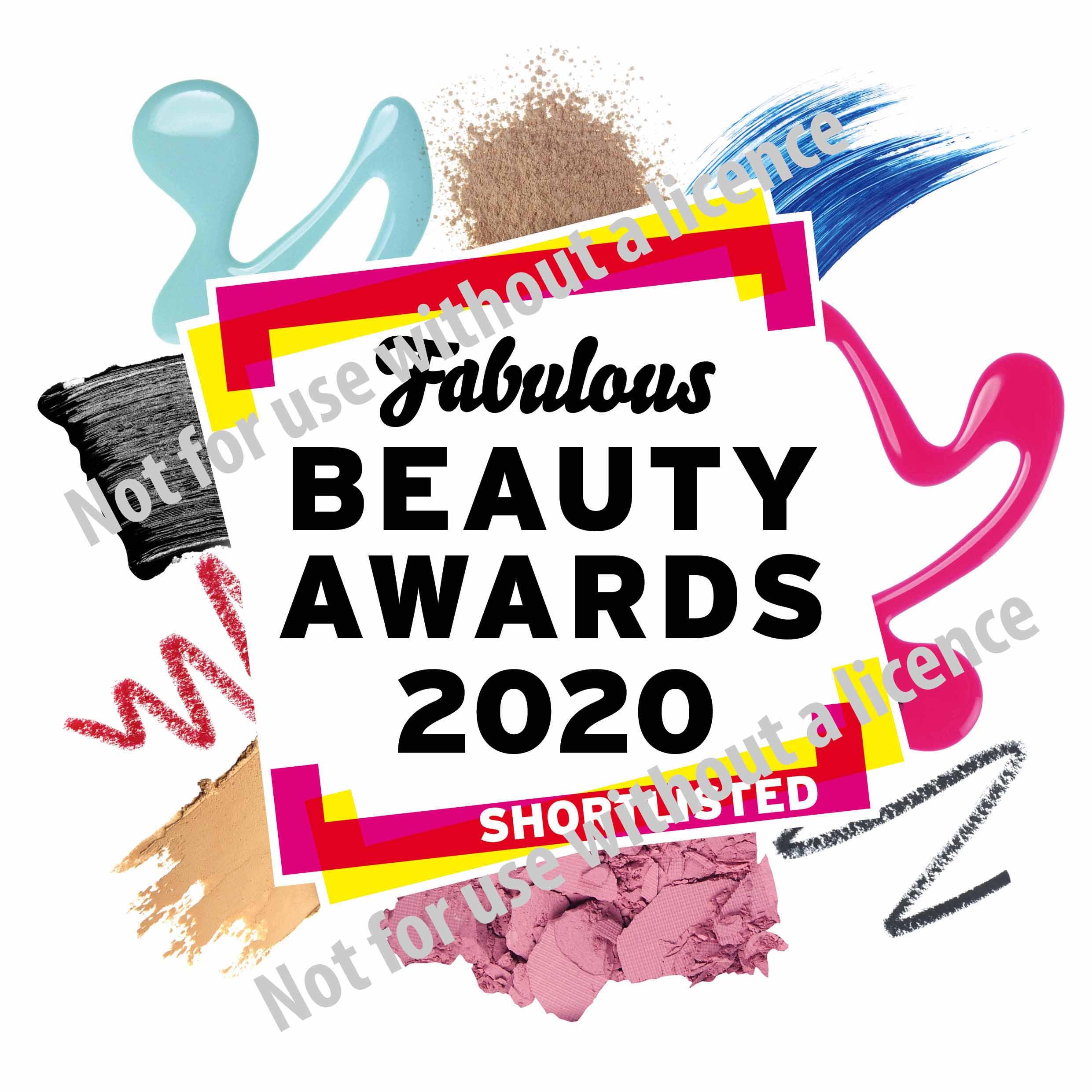 Fabulous Beauty Awards Shortlisted 2020