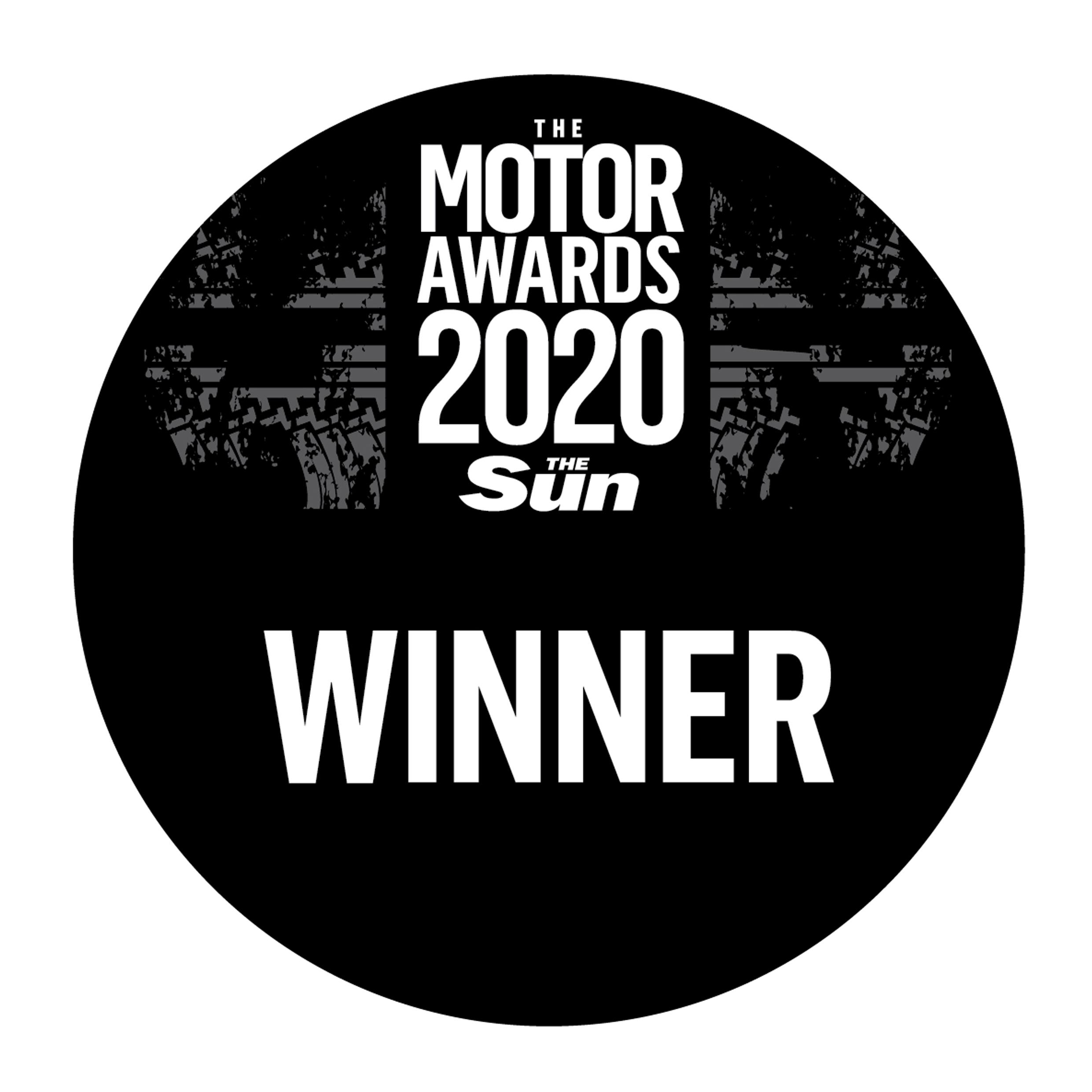 The Sun Motoring Awards Winner 2020