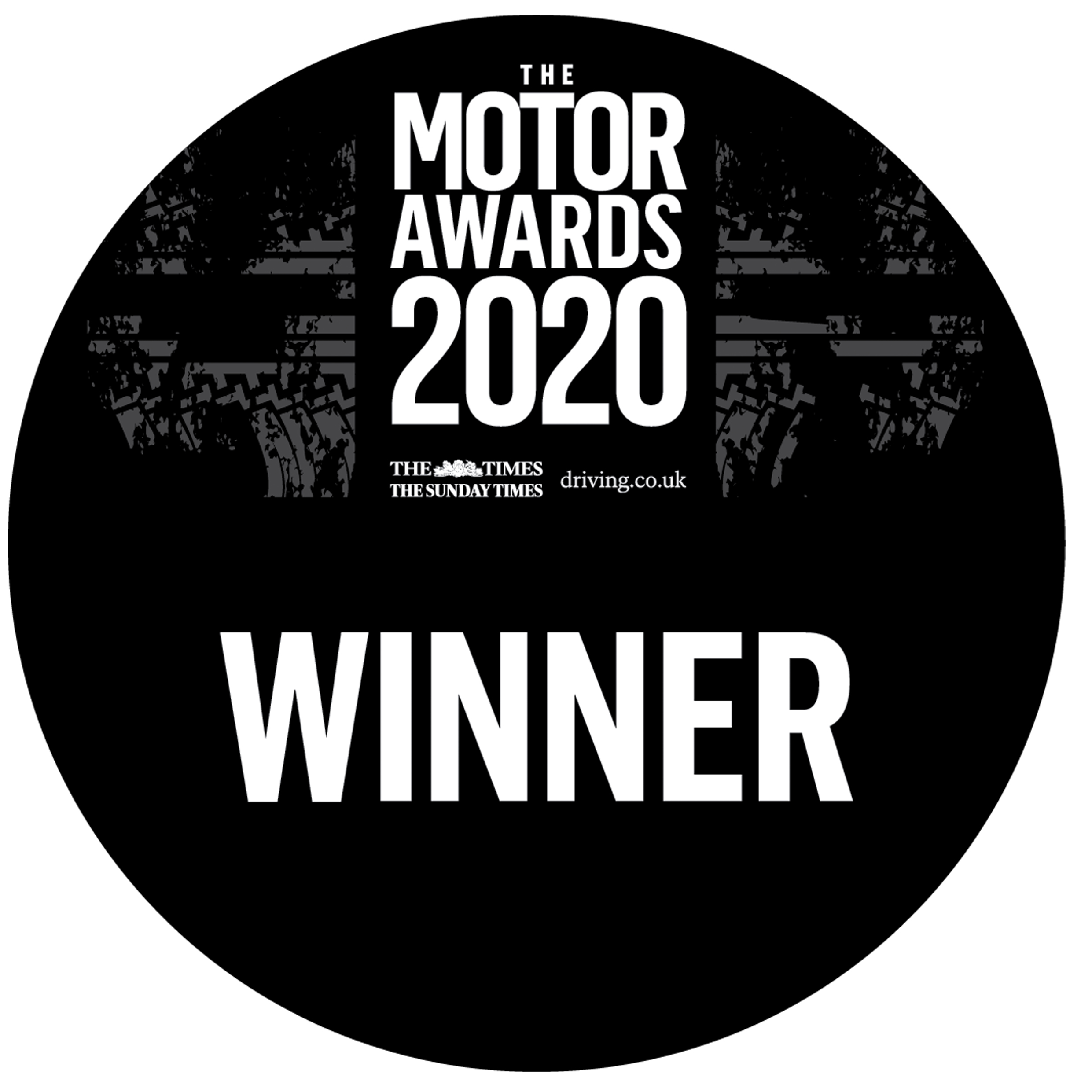 The Times, The Sunday Times, and Driving.co.uk Motor Awards Winner 2020