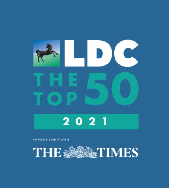 LDC Top 50 Most Ambitious Business Leaders in Partnership with The Times